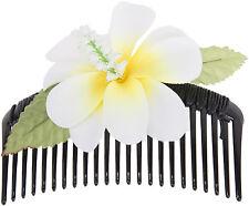 Vintage ROSIA Tiki HAWAII Flower Blüten Hair Comb HAARKAMM Rockabilly