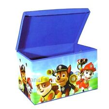 Children's Paw Patrol Boys Girls Blue Toy Book Storage Box