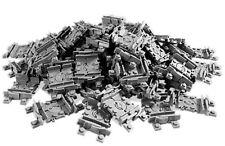 Lego ® RC Lot x25 Rail de Train Flexible Grise Dark Stone Grey Track 64022 NEW