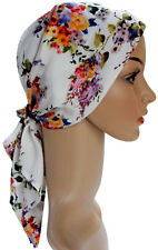 PRETTY HEAD SCARVES SUITABLE FOR HAIR LOSS, CHEMO. PADDED, SMOOTH & COMFORTABLE