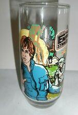 STAR WARS - The Empire Strikes Back, 1980 BURGER KING GLASS, Luke Sky walker