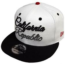 New Era California Republic Script White Black Snapback Cap 9fifty 950 Limited7