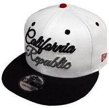 New Era California Republic Script White Black Snapback Cap 9fifty 950 Limited7