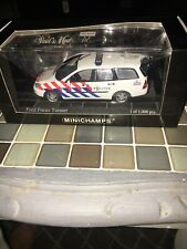 Ford Focus Turnier Politie Minichamps 430087092 1:43 Model Police
