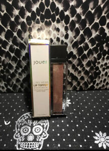 """Jouer Cosmetics Long Wear Lip Topper With Coconut Oil """"Champagne Gold"""" Color New"""