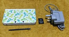 Nintendo 3DS XL Luigi Special Edition White Handheld System PAL *FAST POSTAGE*