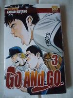 ****** Go and Go Tome 3 ******, Takao Koyano base ball MANGA VF SERIE EN VENTE