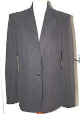 DEBENHAMS COLLECTION UK14 EU42 BROWN/BLACK HERRINGBONE LINED JACKET