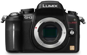 Panasonic LUMIX DMC-GH2 16.0MP Digital Camera - Black (Body Only)