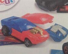 Comida de McDonald's Happy del juguete Hot Wheels Doble Cuerpo Rojo o Azul Hot Rod coche nuevo BNIP