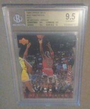 Michael Jordan 1998 Upper Deck mjx timepieces red die-cut BGS 9.5 (rare #9)
