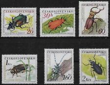TCHECOSLOVAQUIE - INSECTES - N° 1245 A 1250 - NEUF**