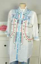Biya by Johnny was Designer Luxe tunique blanc taille s 36 (ab303)