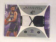 Upper Deck 2003 Vlade Divac Kings Jersey & Warm-Up Swatch Basketball Card WM9