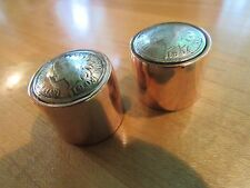 Guitar knobs Indian head penny with copper shaft.