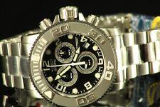 Invicta 51mm 12400 Men's SWISS MADE Sea Hunter Chrono Stainless Steel  Watch