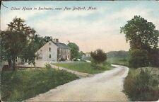 Postcard, Massachusetts, Rochester, Oldest House