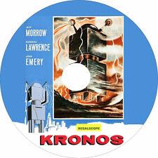 Kronos (1957 Sci-Fi Film) Mod Dvd disc only