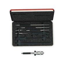 Starrett 124az Solid Rod Inside Micrometer Set With Case 2 8 Range 001