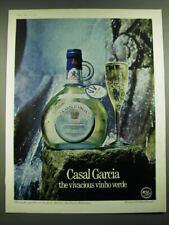 1968 Casal Garcia Wine Ad - Casal Garcia the vivacious vinho verde