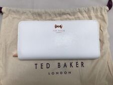 Ted Baker Bow Detail Zip Around Matinee Purse With Ted Dust Bag RRP£85 Nude Whit