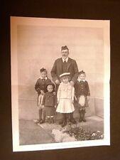 Re Edoardo VII Albert Edward con i nipotini nel 1903 + Sergio di Russia a Napoli