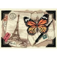 """Dimensions Gold Collection Petite Counted Cross Stitch Kit Travel Memories 5""""X7"""""""