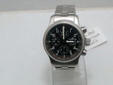 FORTIS Armbanduhren mit Chronograph und gebürstetem Finish