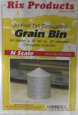 Rix Products N Scale 30' Corrugated Grain Bin Kit 628-703