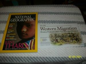National Geographic Magazine September 2000 With Western Migration Map