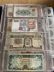 Coin And Bills World collection. US And International