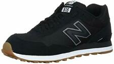 New Balance Mens ML515RSD Low Top Lace Up Walking Shoes, Black/White, Size 6.5 6