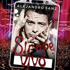 Sirope Vivo [2 CD] (Audio CD) By Alejandro Sanz - CD Album Damaged Case