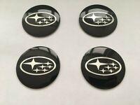 ✅ 4 pcs 56mm Wheel Center Hub Caps Stickers Fits For Subaru Alloys 60mm Caps