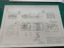 BMW E30  325Convertible/ Cabrio Konstruktionszeichnung/ Blueprint.