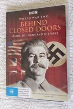 WORLD WAR TWO - BEHIND CLOSE DOOR (DVD 2-DISC) R-4, LIKE NEW, FREE POST AUS-WIDE