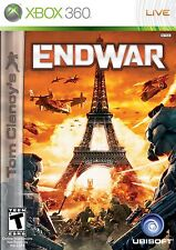 XBOX 360 EndWar Video Game Multiplayer Online Strategy Tom Clancy Full 1080p HD
