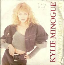 """KYLIE MINOGUE - I SHOULD BE SO LUCKY - 7"""" VINYL PICTURE SLEEVE 1987 PWL"""