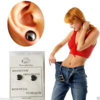 Boucles d'oreilles maigrir thérapie Magnétique Poids Chute Therapy