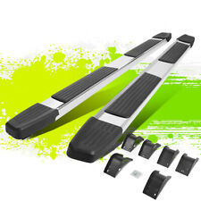 6 Flat Style Polished Step Nerf Bar Running Boards For Dodge Ram Crew Cab 09 20 Fits Dodge Ram 1500