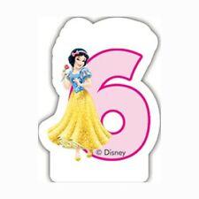 Disney Princess Birthday Candle No 6