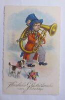 """Geburtstag, Kinder, Mode, Zylinder, Posaune, Hund, Blumen""""  1931 ♥"""