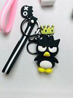 Cute Sanrio Badtz Maru My Melody Hello Kitty Kuromi Kawaii Keychain Bag Charm