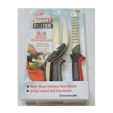 Cortador de inteligente 3 en 1 cuchillo rebanador de múltiples funciones Tijeras de corte de picar Board Chop