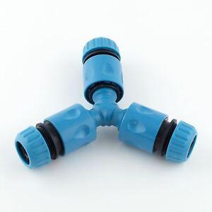 Hozelock Compatible Garden Hose Pipe Splitter Joiner Y Piece Junction Connectors