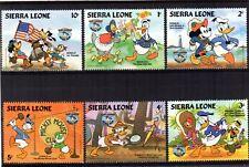 056+  TIMBRES  WALT DISNEY   SERIE SIERRA LEONE