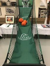 limited edition Du Arcade Style Basketball Hoops Game, green, w/pump and balls