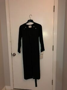 Small Black INTRO MUSE coat for special occasions in great condition with tags.