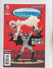 DC Comic! Batman Incorporated! Issue 12! The New 52!
