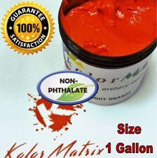 GEN Opaque Bright Orange Plastisol Screenprinting Ink - Non Phthalate – GALLON